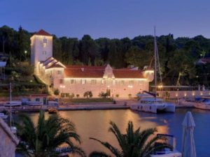 Martinis Marchi luxury castle Croatia