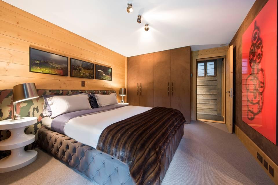 Chalet Aflabim, Gstaad,bedroom