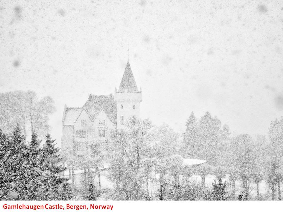 Gamlehaugen Castle in Bergen