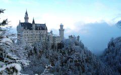 Neuschwanstein Castle in Hohenschwangau, Bavarian Alps