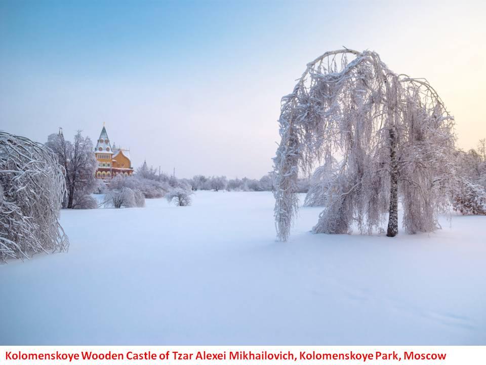 Tzar Alexei Mikhailovich's Kolomenskoye Castle, Moscow