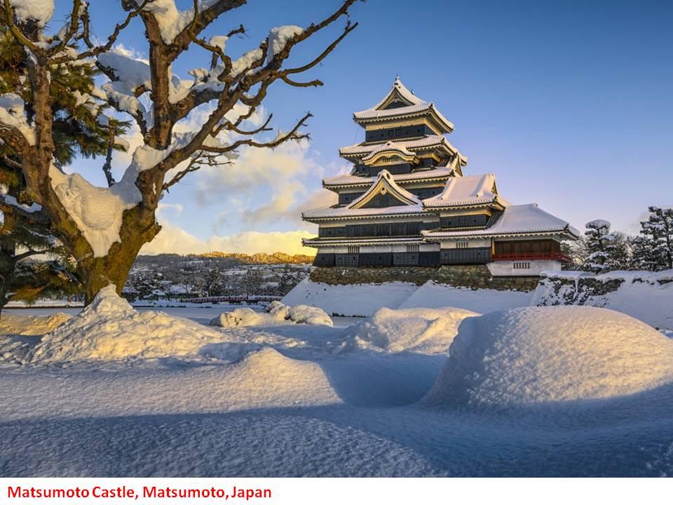 Japans Matsumoto Castle, Matsumoto near Nagano