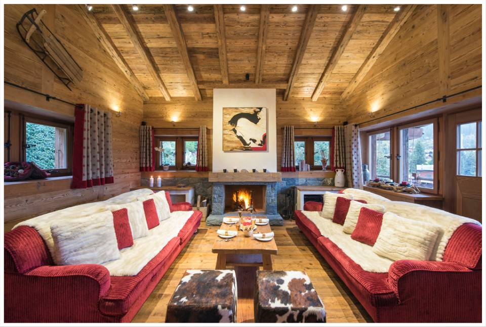 A classic alpine experience in the heart of verbier for W living room verbier