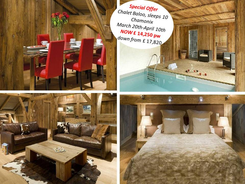 Luxury Ski Chalets – Easter and Last Minute Spring Deals