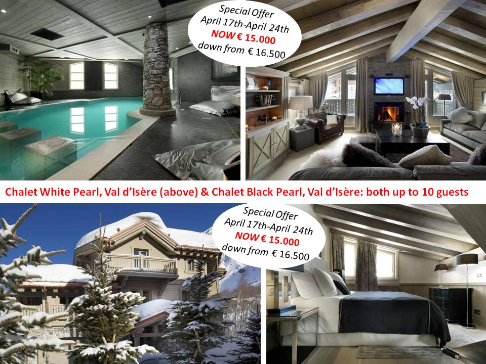 luxury ski chalets easter and last minute deals
