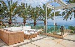 Villa Windermere penthouse terrace