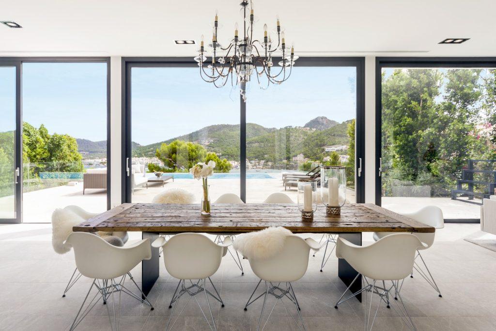 Dining area of luxury villa MSW08 in Puerto Andratx, Mallorca, Balearic Islands