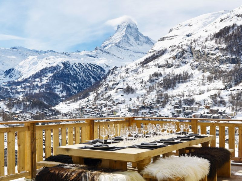 Chalet Les Anges, Zermatt, Swiss Alps