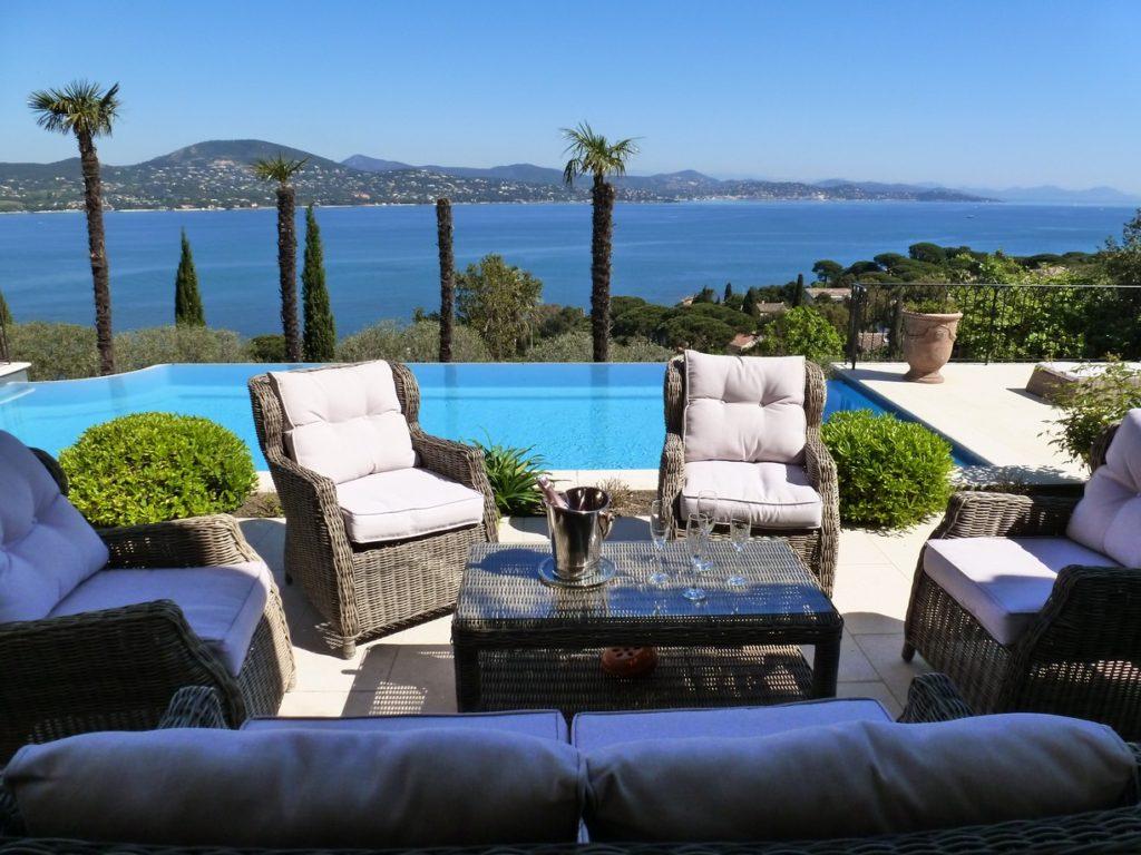 Villa Mirande, St. Tropez, Cote d'Azur, France