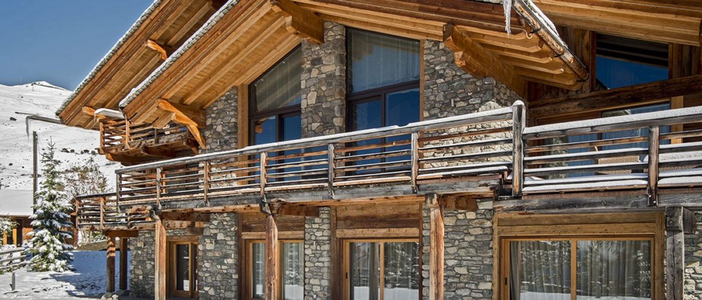 www.finest-holidays.com Chalet Aurora external view, Verbier