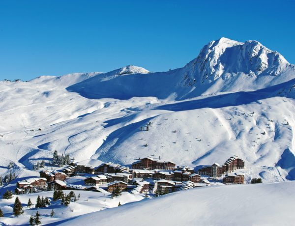 France, Belle Plagne skiresort