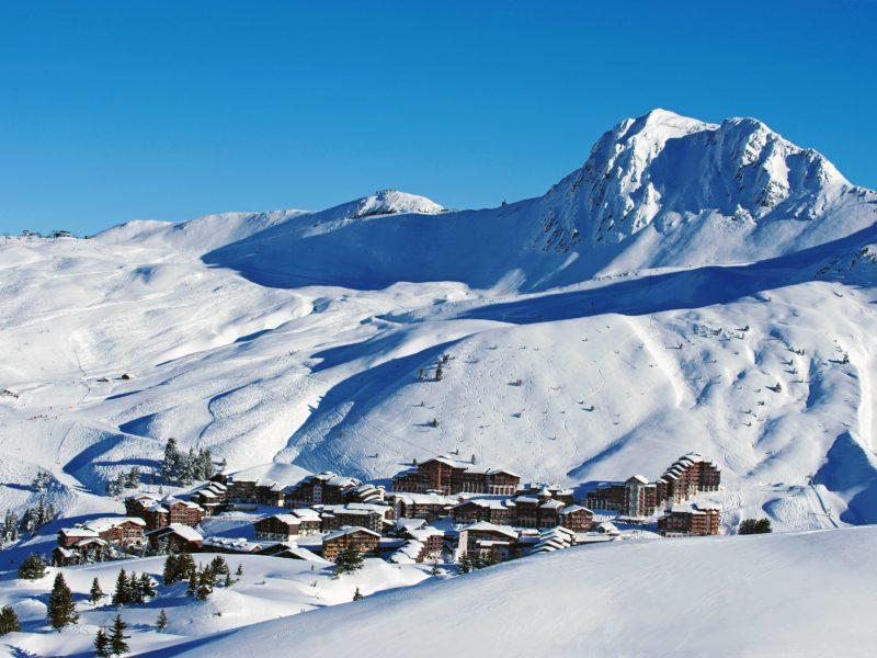 France, Belle Plagne skiresort