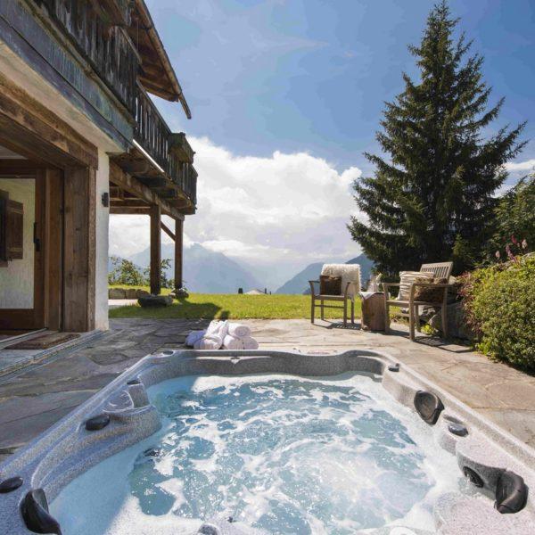 Chalet Milou, Verbier, hot tub