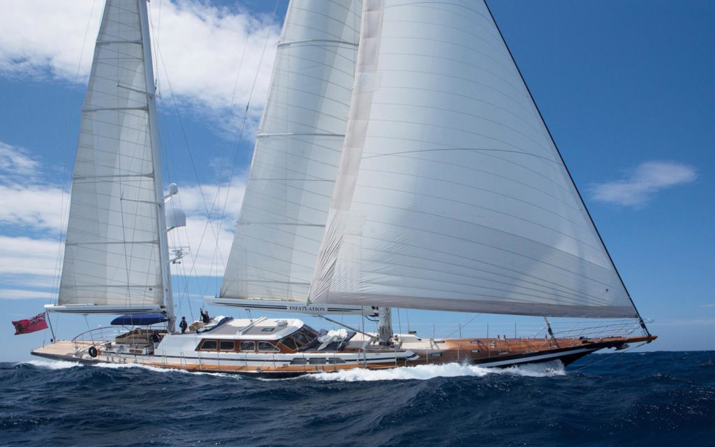 42m sailing yacht INFATUATION