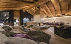 Chalet Elbrus Living Area