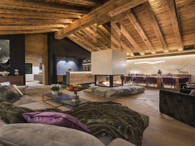 Chalet Elbrus Living Area