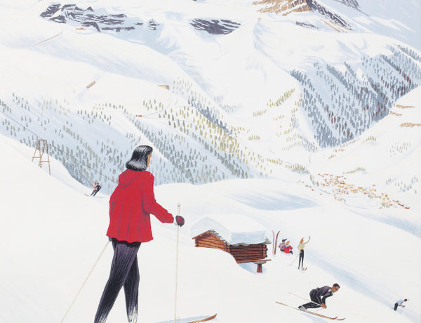 "Ski Poster Sale at Christie's, London - ""Zermatt"""