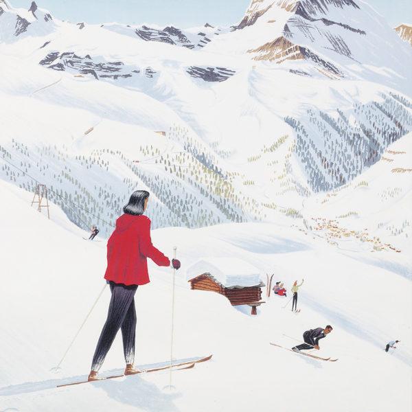 "Ski Poster Sale at Christie's, London - ""Zermatt"""