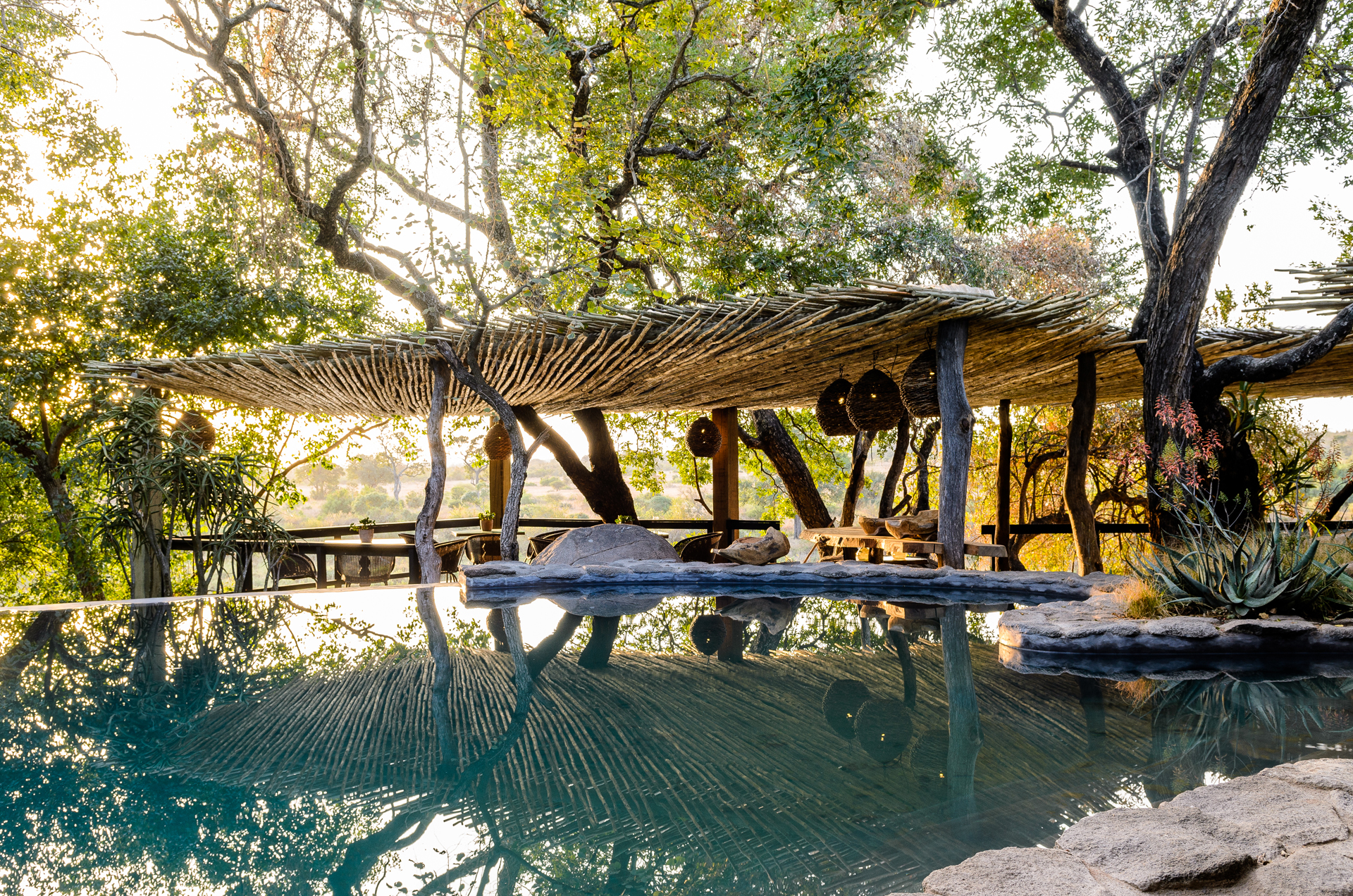 Singita South Africa, Boulders Lodge, swimming pool