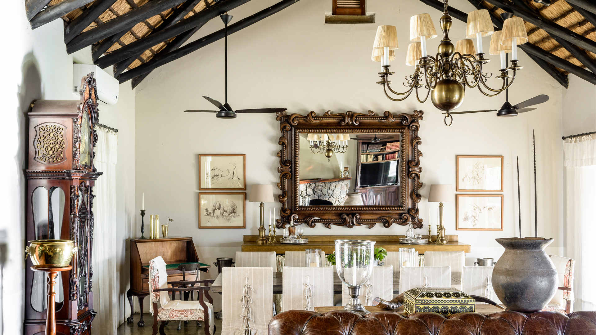 Dining pleasures at Singita's Castleton Lodge, South Africa