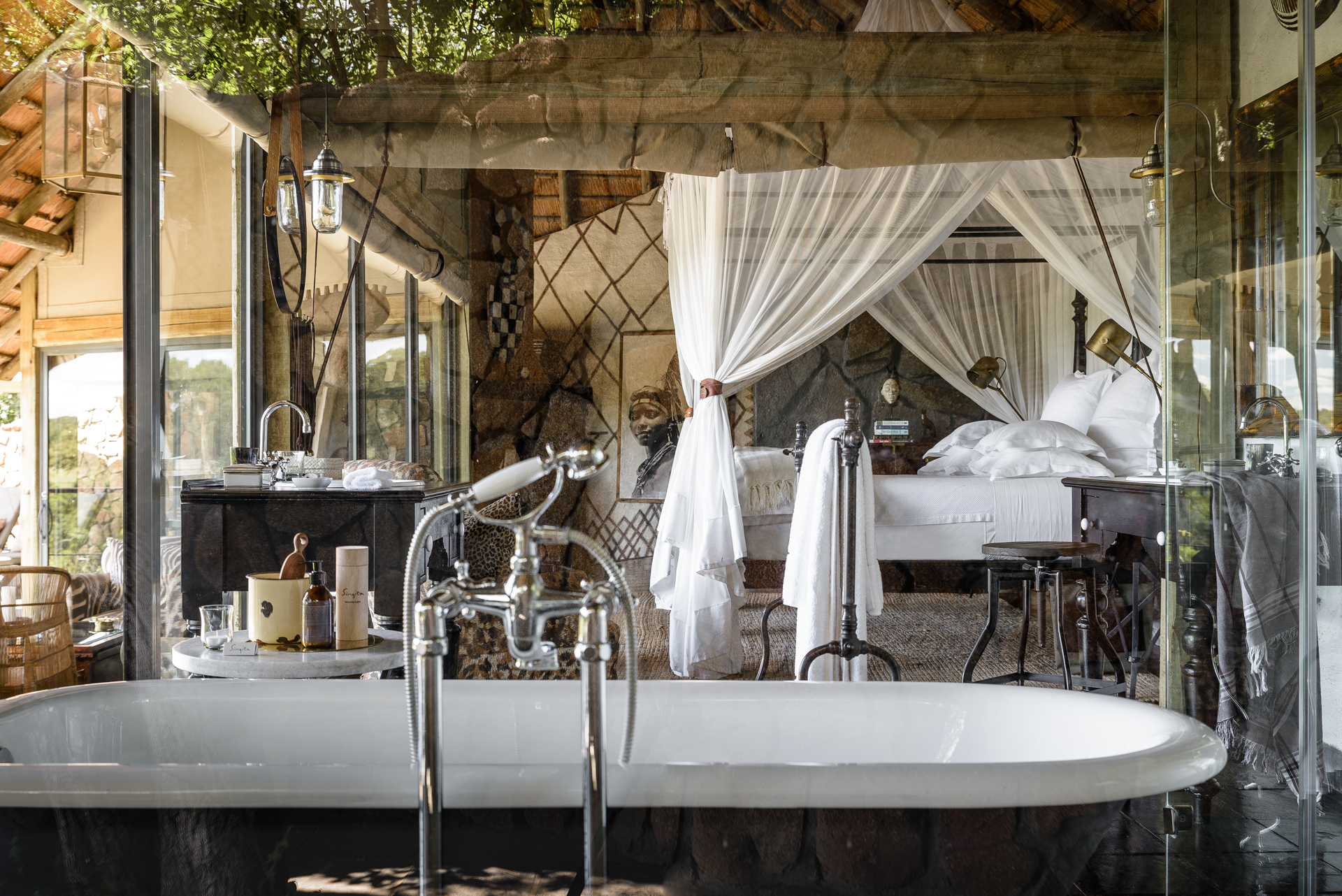 South Africa, Singita, Ebony Lodge