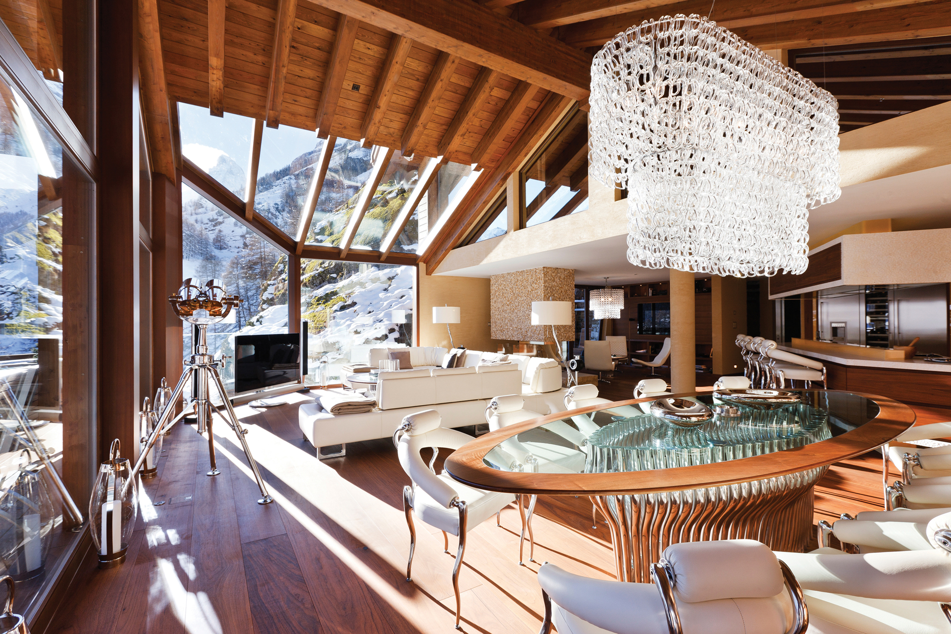 Luxury Ski Chalet Zermatt Peak, Zermatt, Swiss Alps