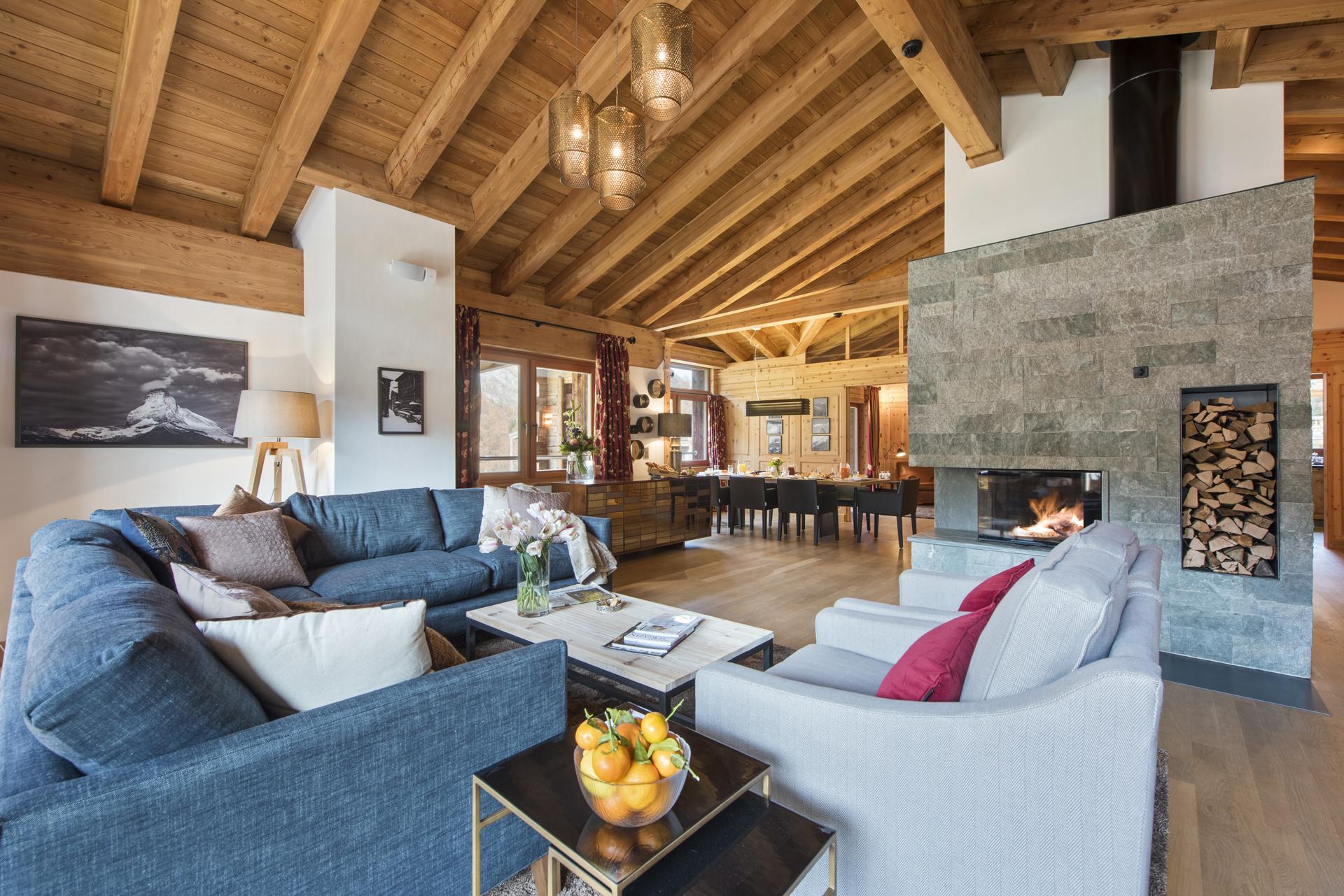 Luxury Ski Penthouse Alex, Zermatt, Swiss Alps