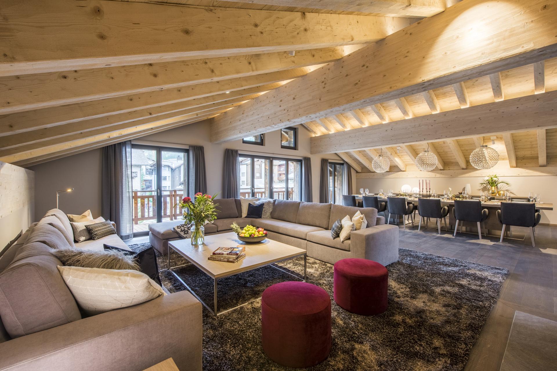 Luxury Ski Penthouse Christiania, Zermatt, Swiss Alps