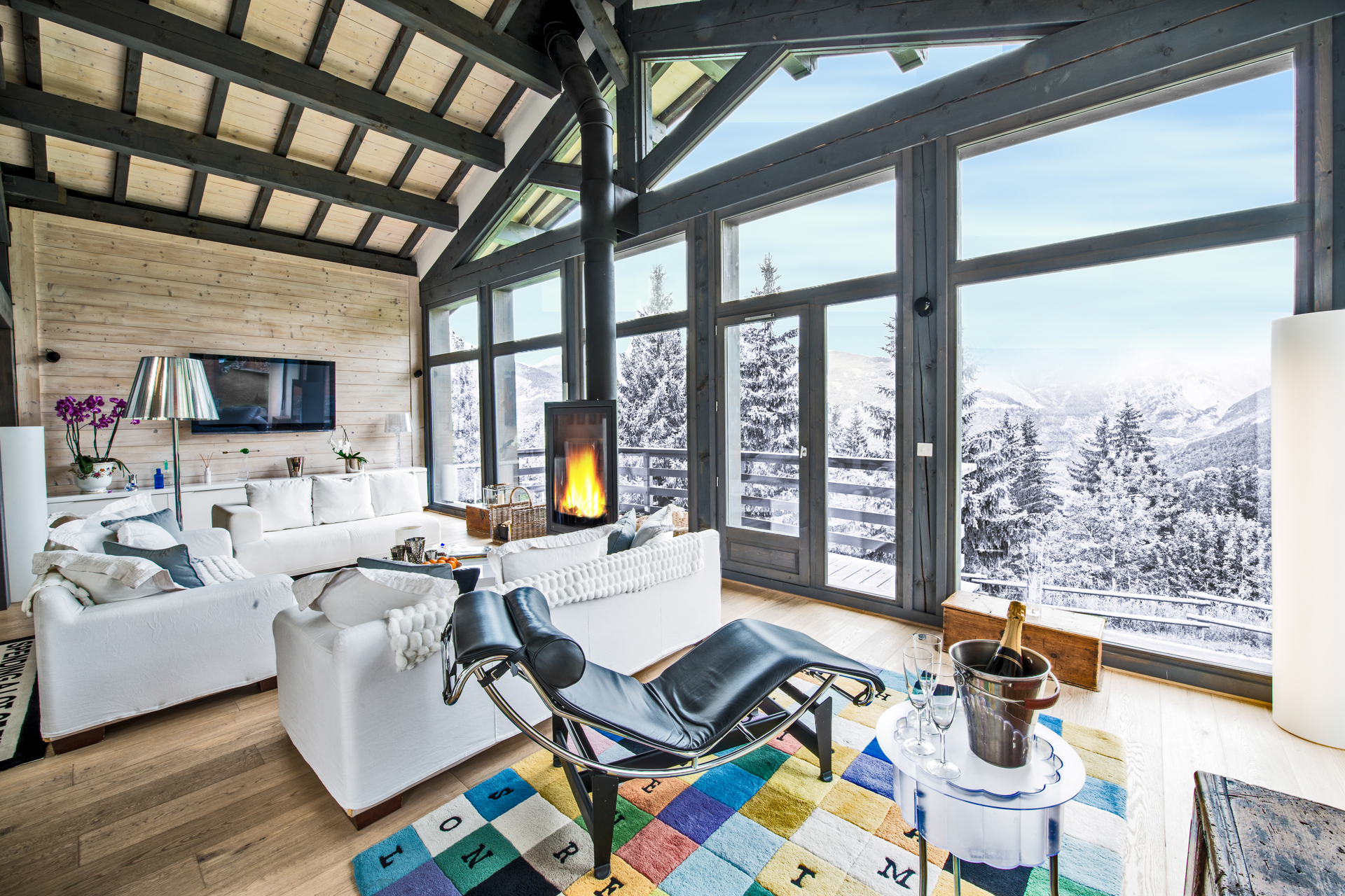 Luxury Ski Chalet Le R, Courchevel 1550, French Alps