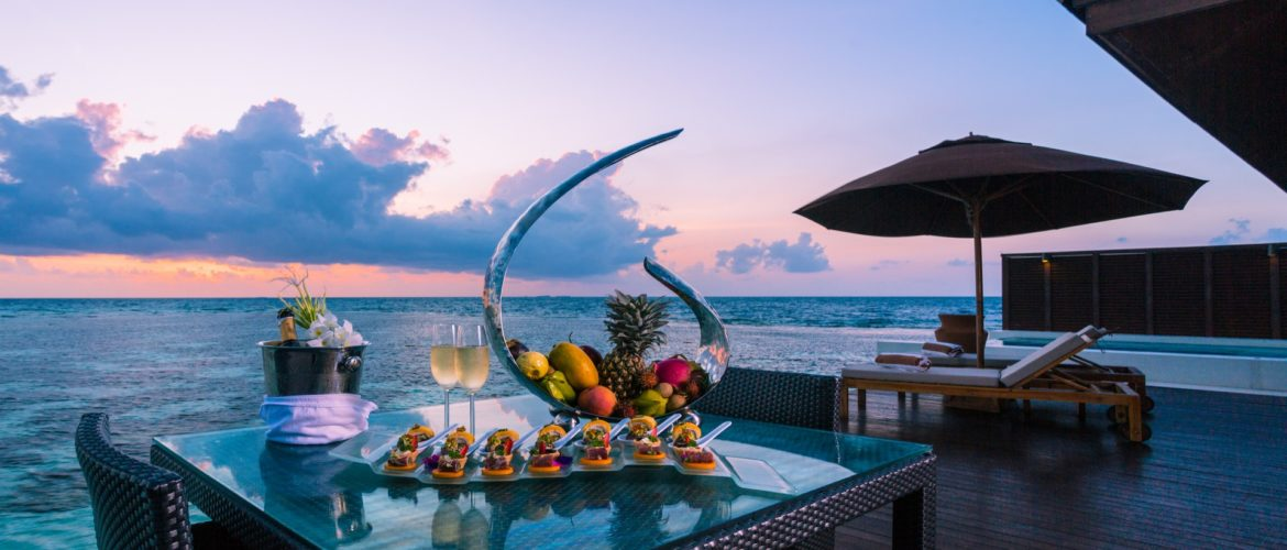 Fine dining on your private terrace
