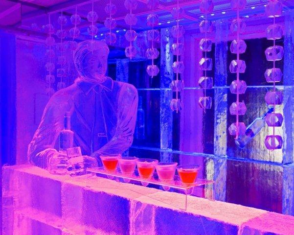 The Kube ice bar