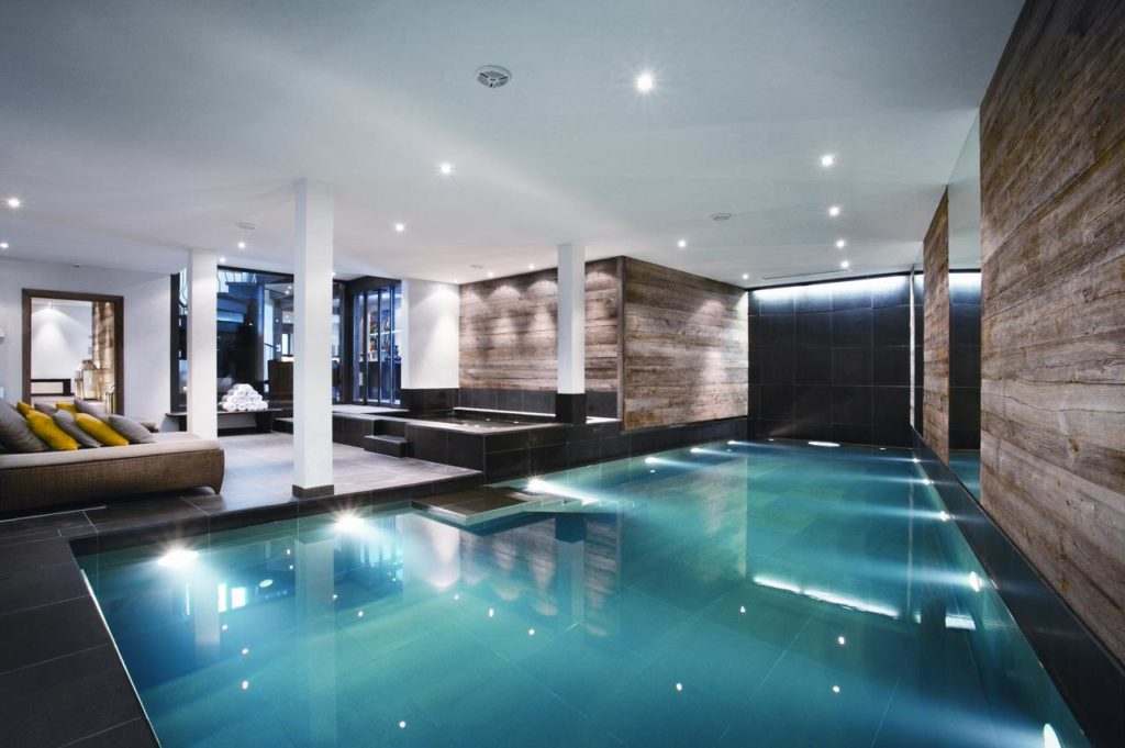 The Lodge Verbier - indoor swimming pool