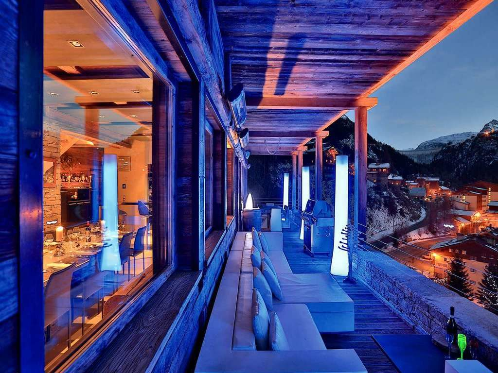 Chalet Quezac, balcony