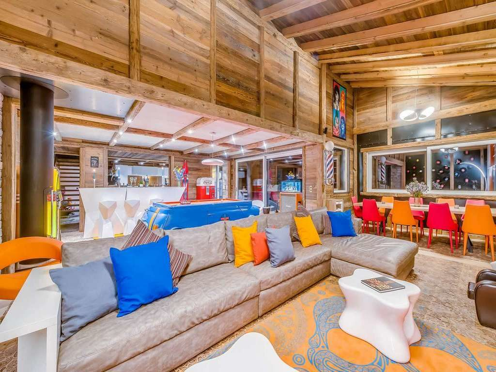 Chalet Rock n Love, living area