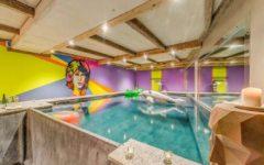 Chalet Rock n Love, swimming pool