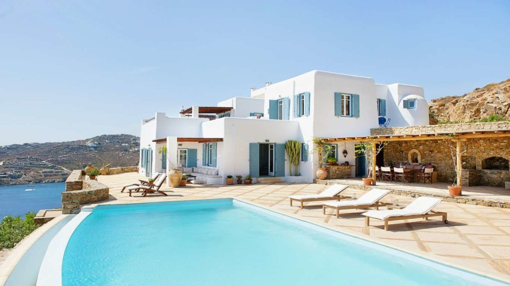 Mykonos, pool Villa Ian