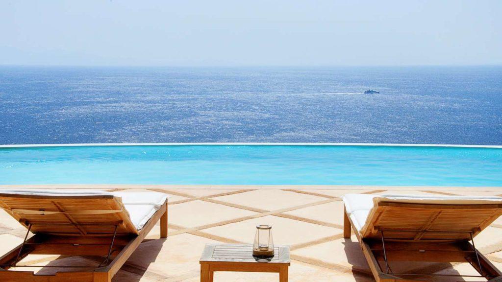 Mykonos villa Ian, view