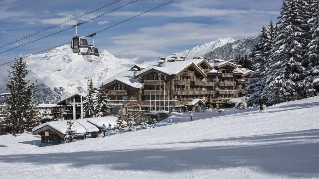 Grandes Alpes Hotel, ski in ski out