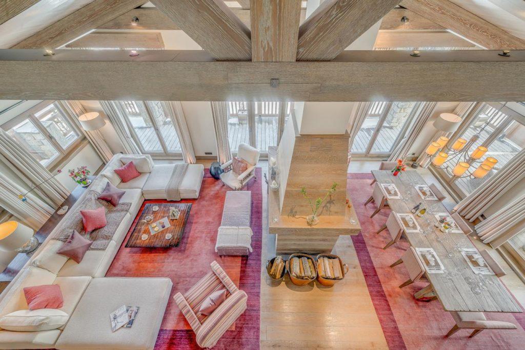Shemshak Lodge, living space