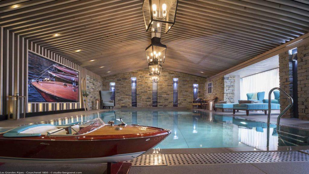 Grandes Alpes Hotel, pool