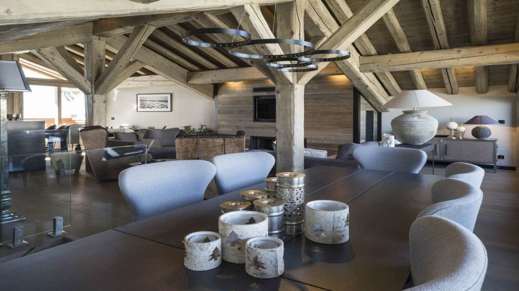 Chalet Colombe, living space
