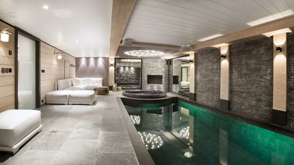 Chalet Colombe, pool