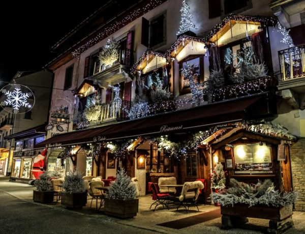 Chamonix at Christmas Time