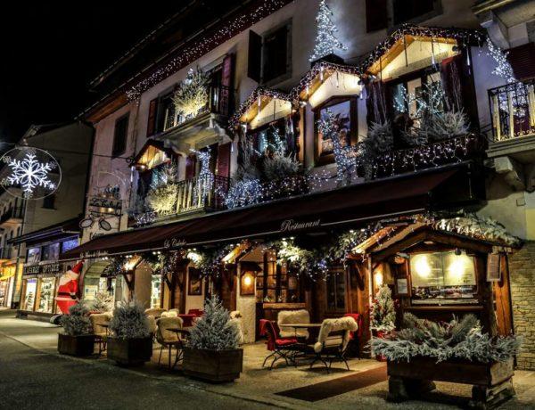 Chamonix at Christmas Time
