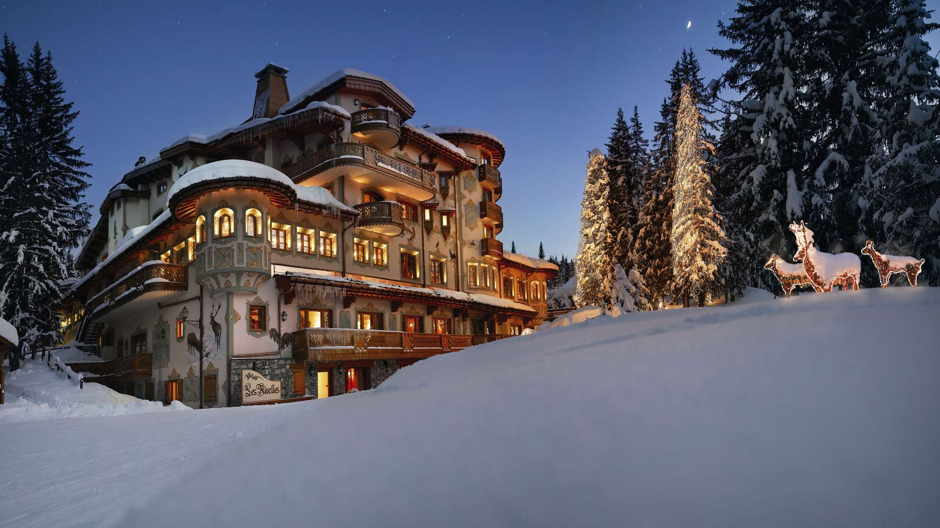 Hotel Les Airelles in Courchevel 1850