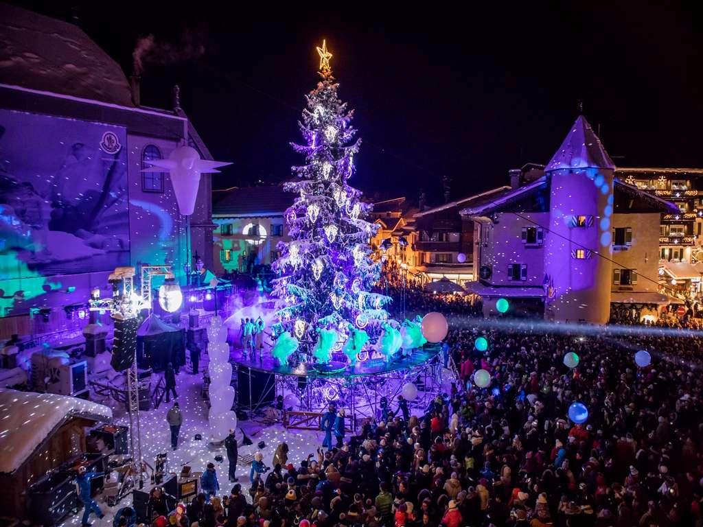 Christmas tree Megeve