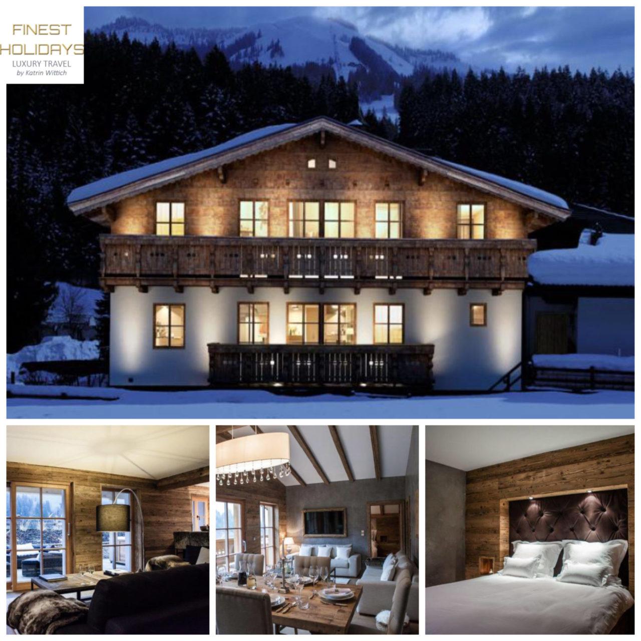 www.finest-holidays.com Austrian Alps, Kitzbuehel, Kitzbühel, luxury ski chalet Kitz, Austria