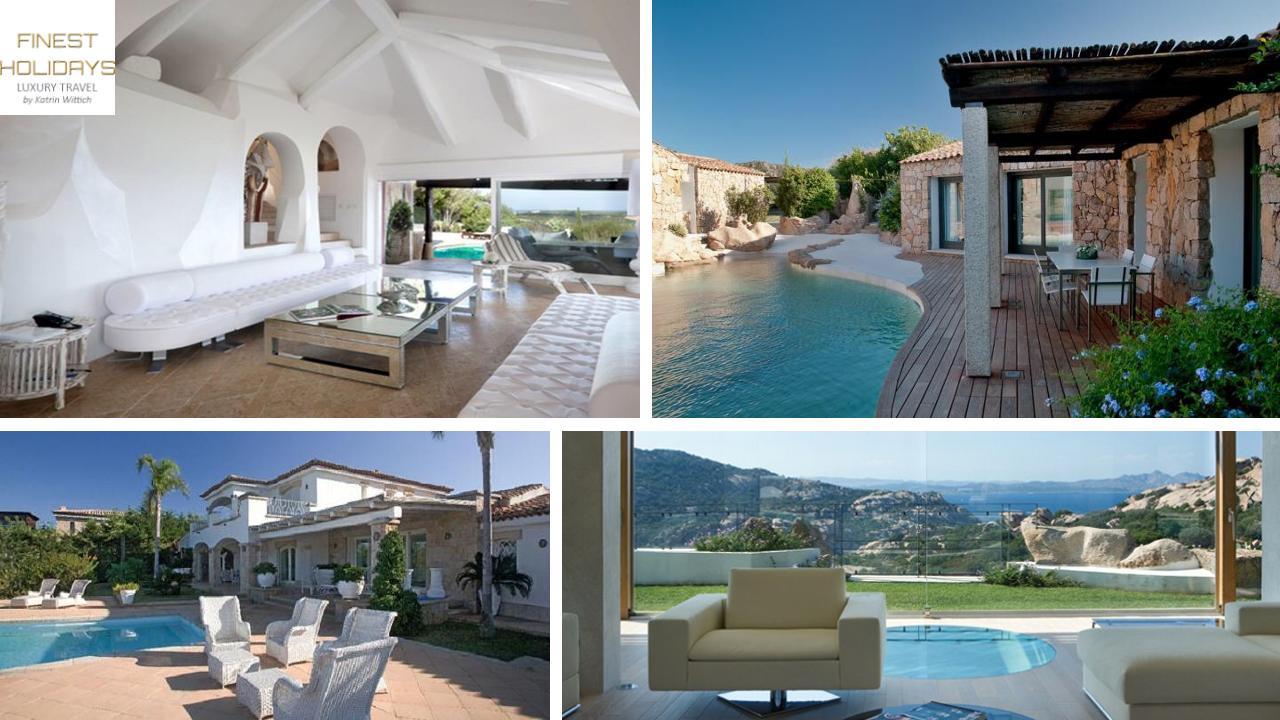 www.finest-holidays.com Summer holiday villas Costa Smeralda