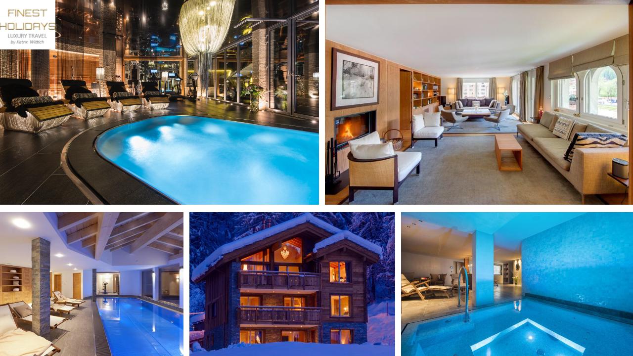 www.finest-holidays.com Luxury ski chalets, Zermatt, Swiss Alps