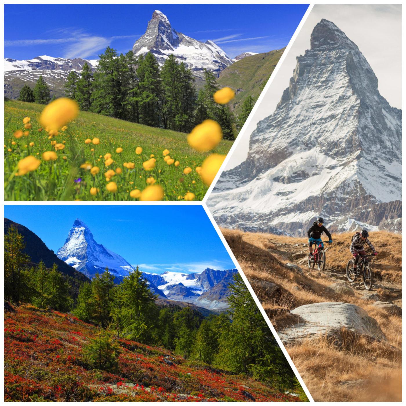 www.finest-holidays.com Matterhorn area, summer, autumn, Swiss Alps